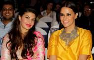 Jacqueline Fernandez and Neha Dhupia