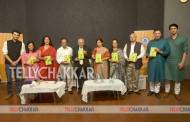 TV celebs at Chitra Desai's book launch