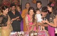 Nidhi Uttam's birthday bash on the sets of Yeh Rishta...