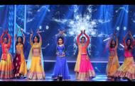 Madhuri Dixit performing with COLORS leading actresses