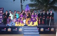 Chak De girls at the launch of India Banega Manch