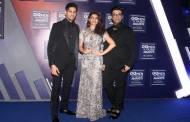 Siddharth Malhotra, Jaqcueline Fernandez and Karan Johar.