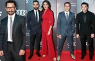 Amir Khan, Virat Kohli, Anushka Sharma, Akshay Kumar and Sohail Khan