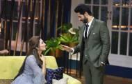 Arshi Khan surprises Hiten Tejwani on the sets of JuzzBaatt