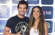 Popular TV celebs at the launch of a lounge