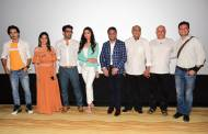 Celebs attend the unveiling of the first look of Ullu's Halala