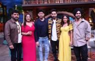 Ayushmann and Nushrat Bharucha visit the sets of The Kapil Sharma Show