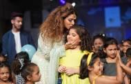 Celebs at the ramp of India Kids Fashion Week 2019