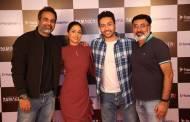 Launch of Damaged starring Hina Khan and Adhyayan Suman