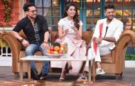 Baaghi 3 team on the sets of The Kapil Sharma Show