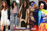 Bollywood fashion trends of 2015