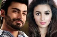 Fawad Khan and Alia Bhatt