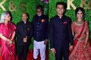 Amitabh and Jaya Bachchan grace lyricist Sameer's daughter's wedding