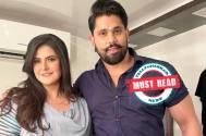 Zareen Khan and Shivashish Mishra