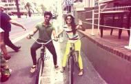 Love ride: Gauahar and Kushal