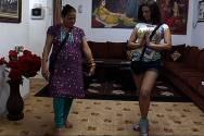 Rakhi  Sawant and Jaya Sawant