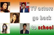 #IndependenceDay Special: TV actors go back to school