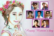 'If I were a woman for a day...' share TV actors