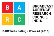 BARC India Ratings: Week 42 (2016)