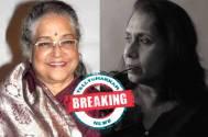 Shubha Khote steps out, Swaroopa Ghosh steps in