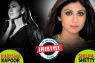 Karisma Kapoor and Shilpa Shetty