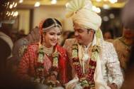 Palak Jain and Tapasvi Mehta get hitched; check out their wedding photo