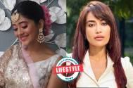 Who looks effortlessly pretty with front fringes: Shivangi Joshi or Surbhi Jyoti?