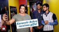 Karanvir Bohra meets his die hard fans