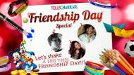 Let's shake a leg this Friendship Day