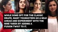 Style-O-Meter I Jennifer, Erica, Hina, Drashti & Rubina whose 'Drape' style would you follow?
