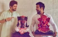 TV celebs with Ganpati