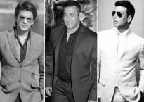 Shah Rukh Khan, Salman Khan and Akshay Kumar