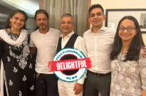 DELIGHTFUL!: SRK poses with his legal team after son Aryan gets bail