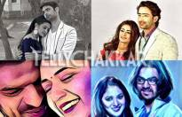 Which couple's 'prisma' portrait do you love the most?