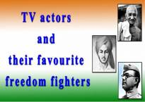 #IndependenceDay Special: TV actors and their favourite 'Freedom Fighters'