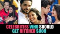 Actors who should get hitched soon