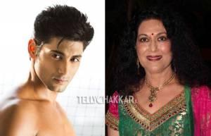 Ruslaan Mumtaz and his mother Anjana