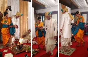 Wedding pics of Ravish and Mugdha!
