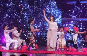 Hema Malini and Swami Ramdev grace Dance India Dance