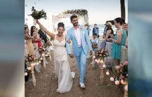 In pics: Rochelle Rao and Keith Sequeira's white wedding!