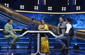 Salman Khan meets his idol on Dus Ka Dum