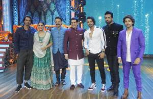 Cast of Paltan visits the sets of India Best Dramebaaz
