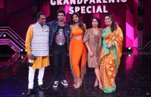 Sushant Singh Rajput and Bhumi Pednekar grace sets of Super Dancer Chapter 3