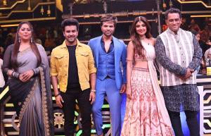 In pics: Himesh & Javed promote Superstar Singer in Super Dancer