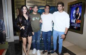 Star-studded affair for Karanvir Bohra's film Hume Tumse Pyaar Kitna