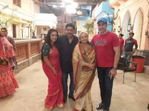 Havan on the sets of Rajan Shahi's  Anupamaa