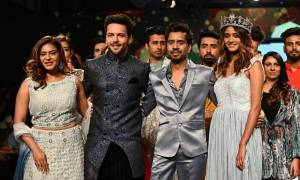 Sanjay Gagnani and fiancee Poonam Preet set relationship goals as they walk the ramp!