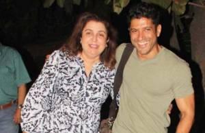 Farah Khan and Farhan Aktar