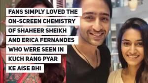 Erica Fernades unfollows Shaheer Sheikh; Is Parth Samthaan the reason behind it?