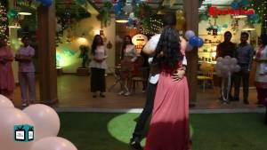 Romantic dance moments between Sid and Ishani on the sets of Sanjivani